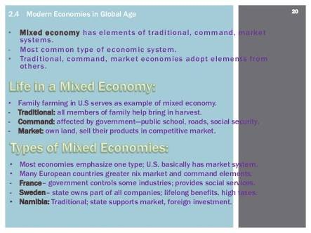 Economic Systems Of The World Defined In Simple Terms Herbal